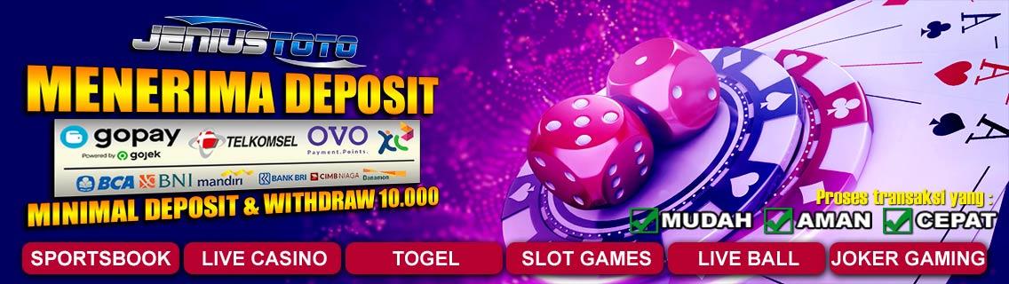 Jeniustoto Bandar Togel Online Paling Best 2020!
