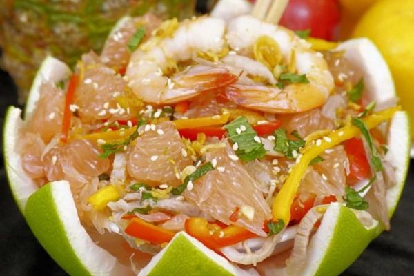 3 Olahan Salad Dengan Jeruk Bali