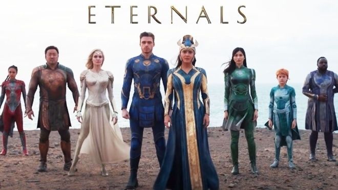 Ethernals Film Superhero Marvels Dikaitkan Dengan Avangers