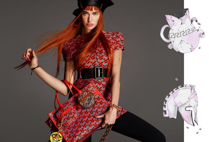 Dua Lipa Menjadi Wajah Dari Versace Di Musim Gugur Ini